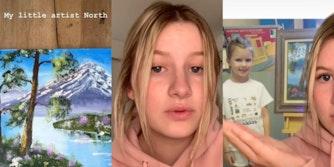 north-west-bob-ross-kim-kardashian-painting-instagram