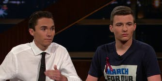 David Hogg and Cameron Kasky
