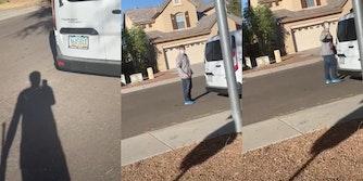 Repairman threatens to beat Black man like a slave video