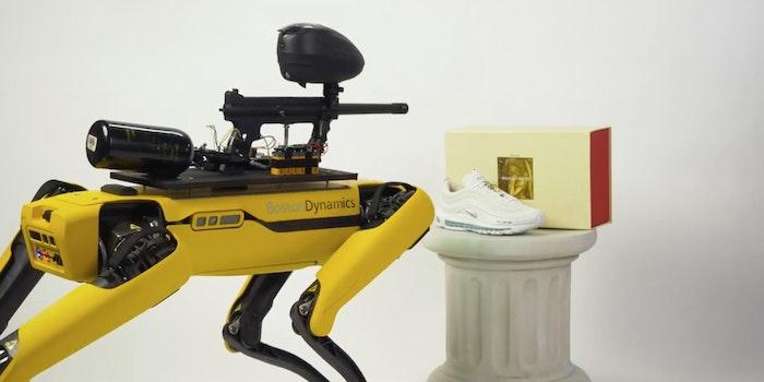 A Spot robot from Boston Dynamics