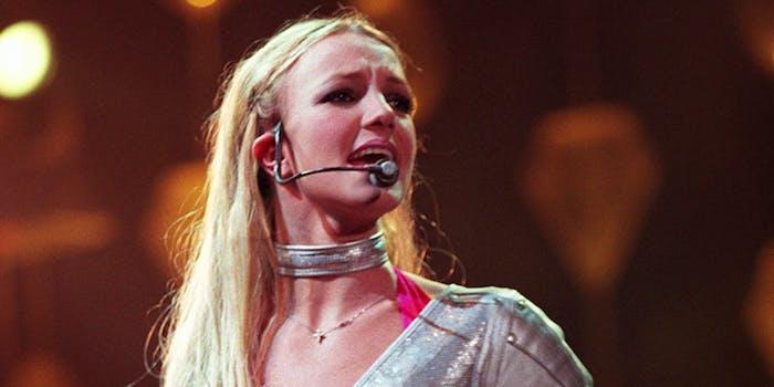 stream framing Britney Spears