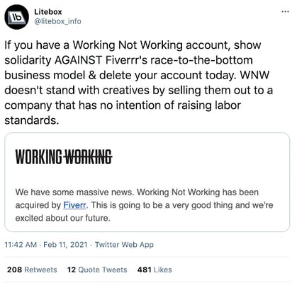 screenshot of litebox_info's tweet