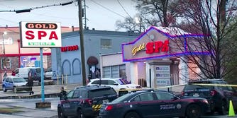 Atlanta shooting outside a massage parlor
