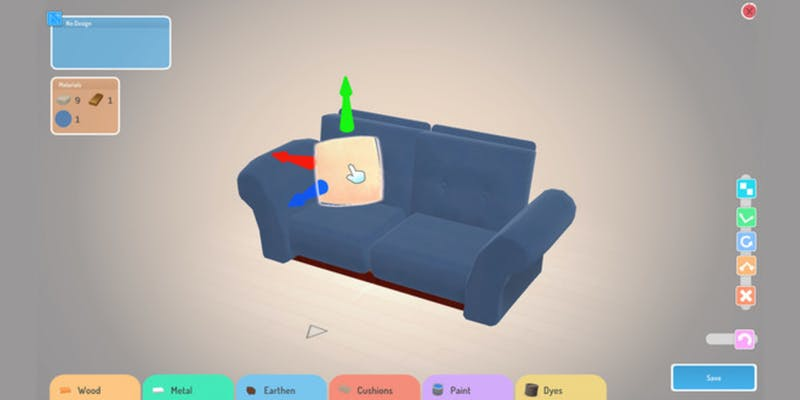 Furniture segment from Hokko Life