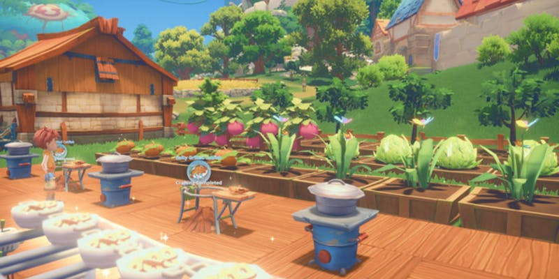 My Time At Portia - gardening