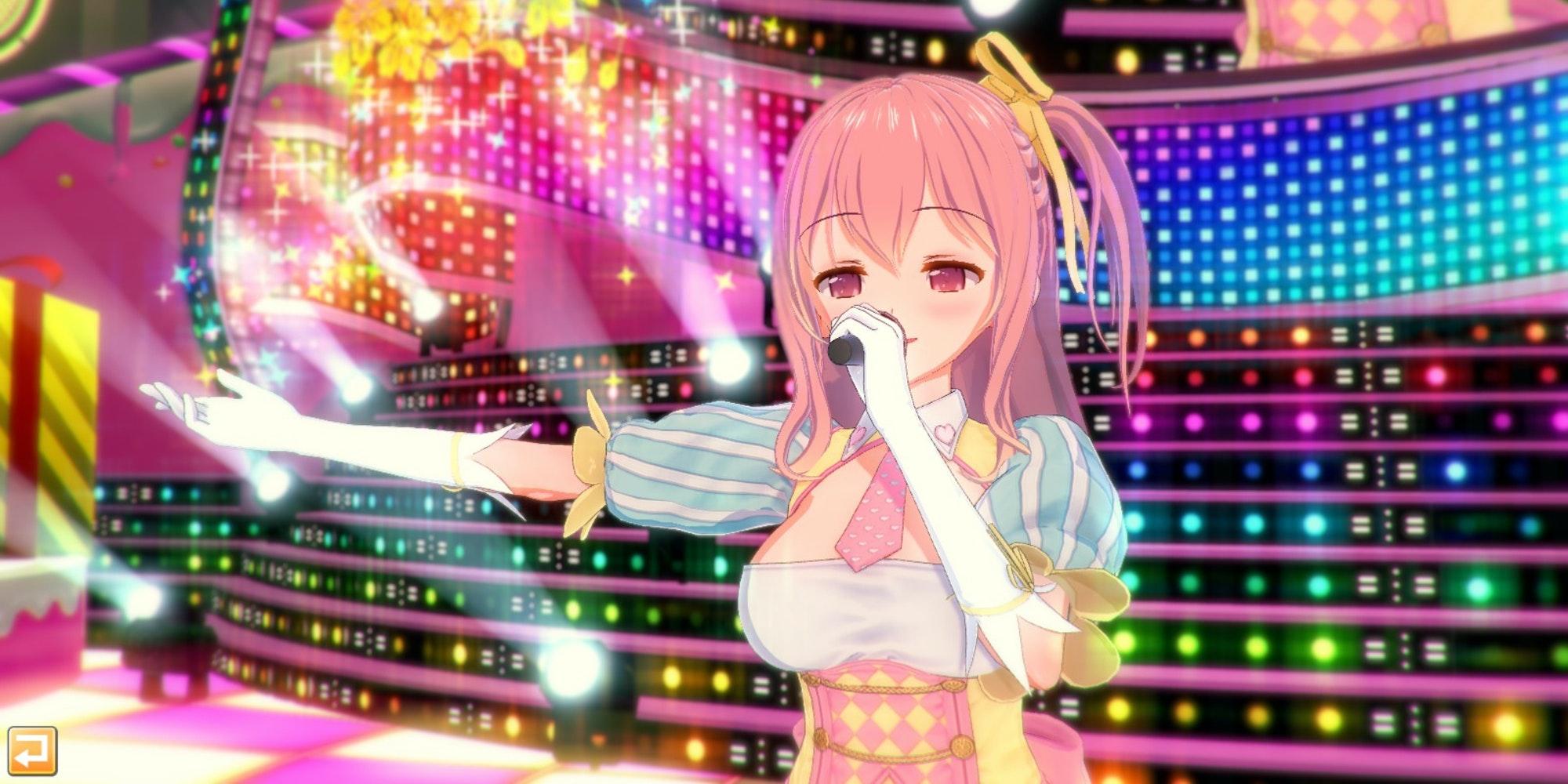 Koikatsu Party idol gameplay screenshot