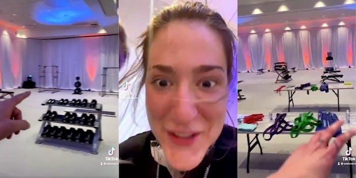 NCAA-women-new-weight-room-sedona-prince-tiktok