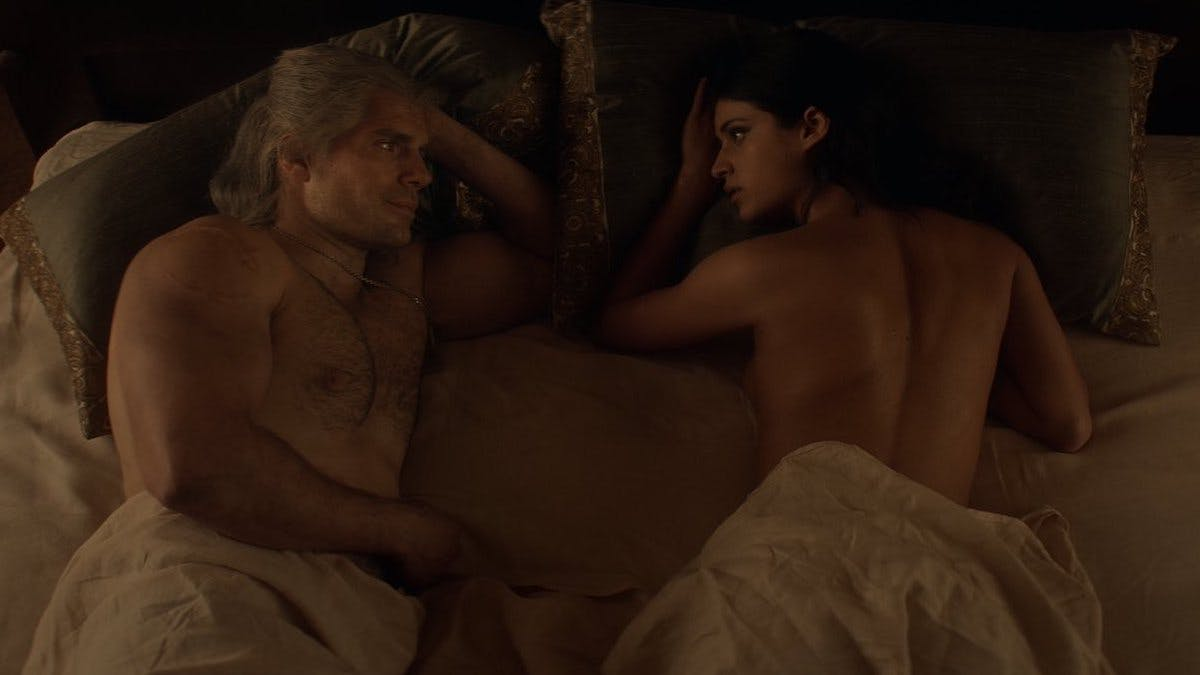 The Witcher is essentially a porn tv show!