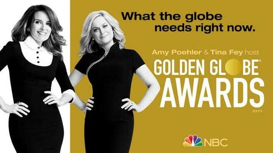 Golden Globe Awards with Tina Fey and Amy Poehler