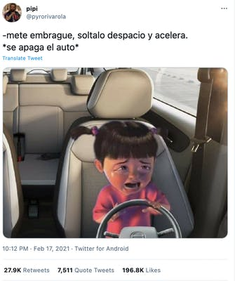 crying boo car meme