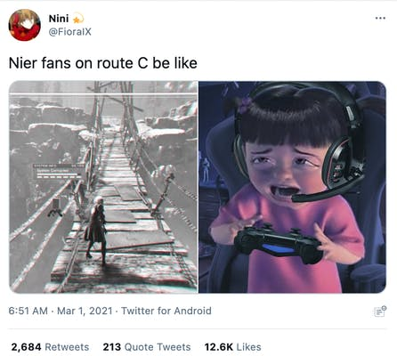 crying boo gamer