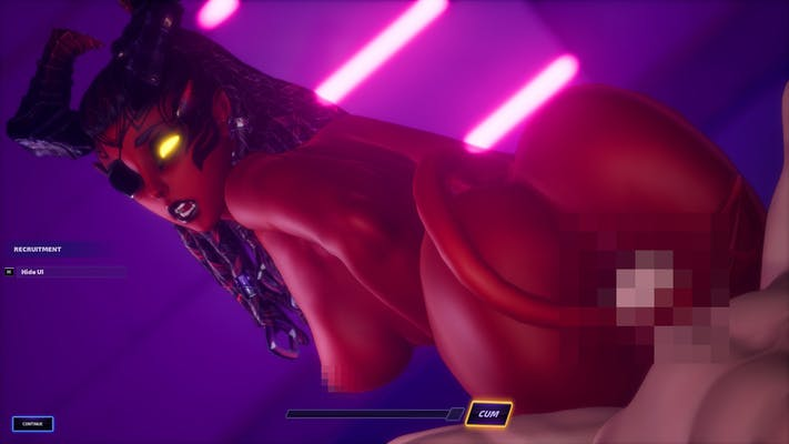 A porn scene with Killi from Subverse