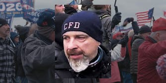Accused Capitol rioter Robert Sanford