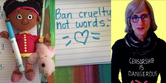 That Vegan Teacher - ban cruelty not words