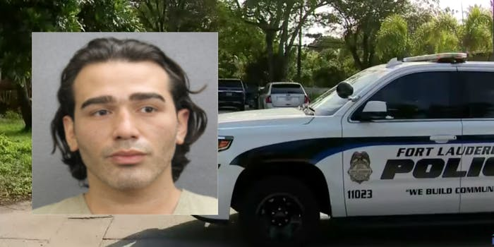 The arrest of Paul N. Miller