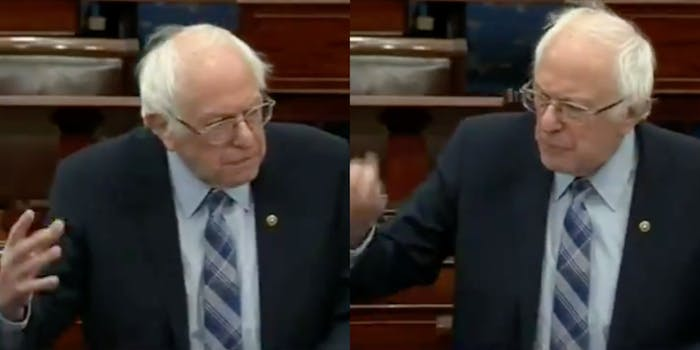 bernie-sanders-covid-19-relief-young-people-dating
