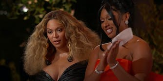 beyonce reacts to news she tied for a grammy record