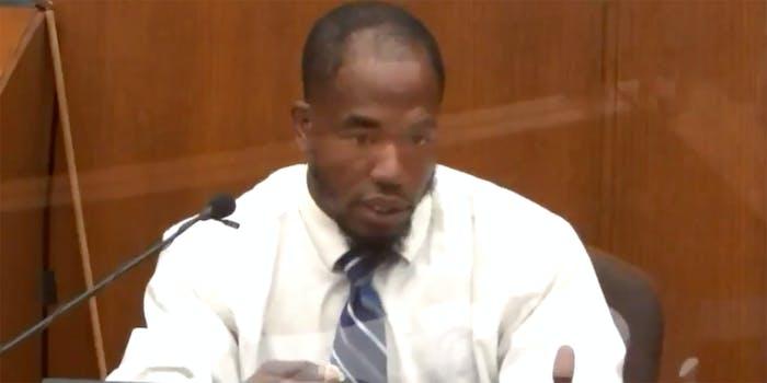 blood choke donald williams testimony george floyd death derek chauvin murder trial