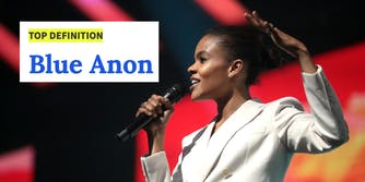 Candace Owens and Blue Anon