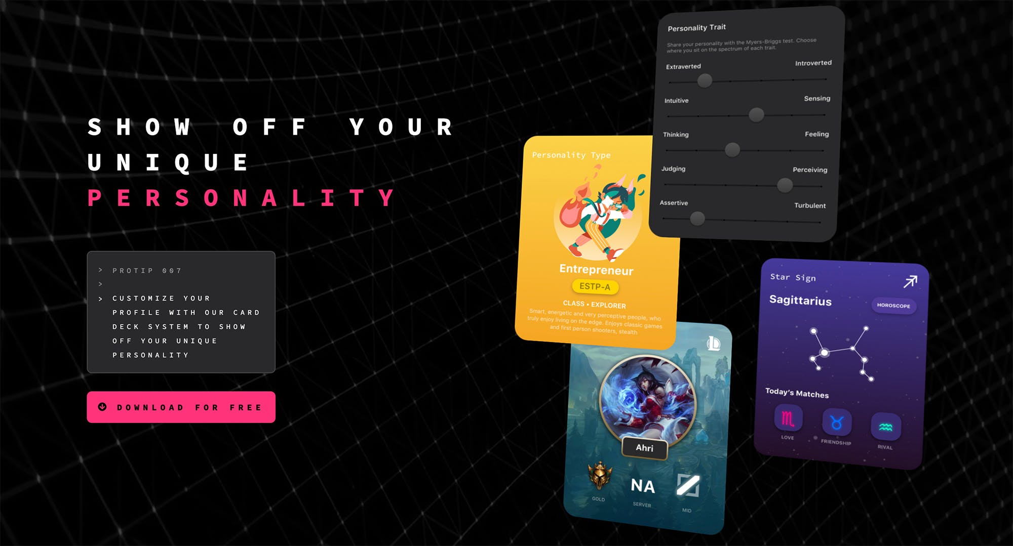 Kippo profile customization example