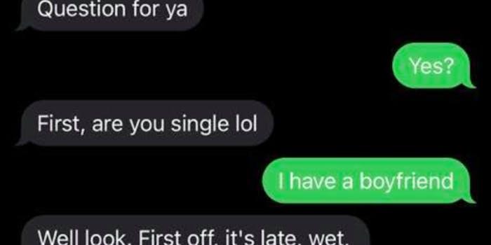 text messages between doordash driver and customer