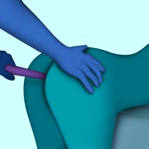Crescendo pleasure mapping the number one male erogenous zone, the prostate.