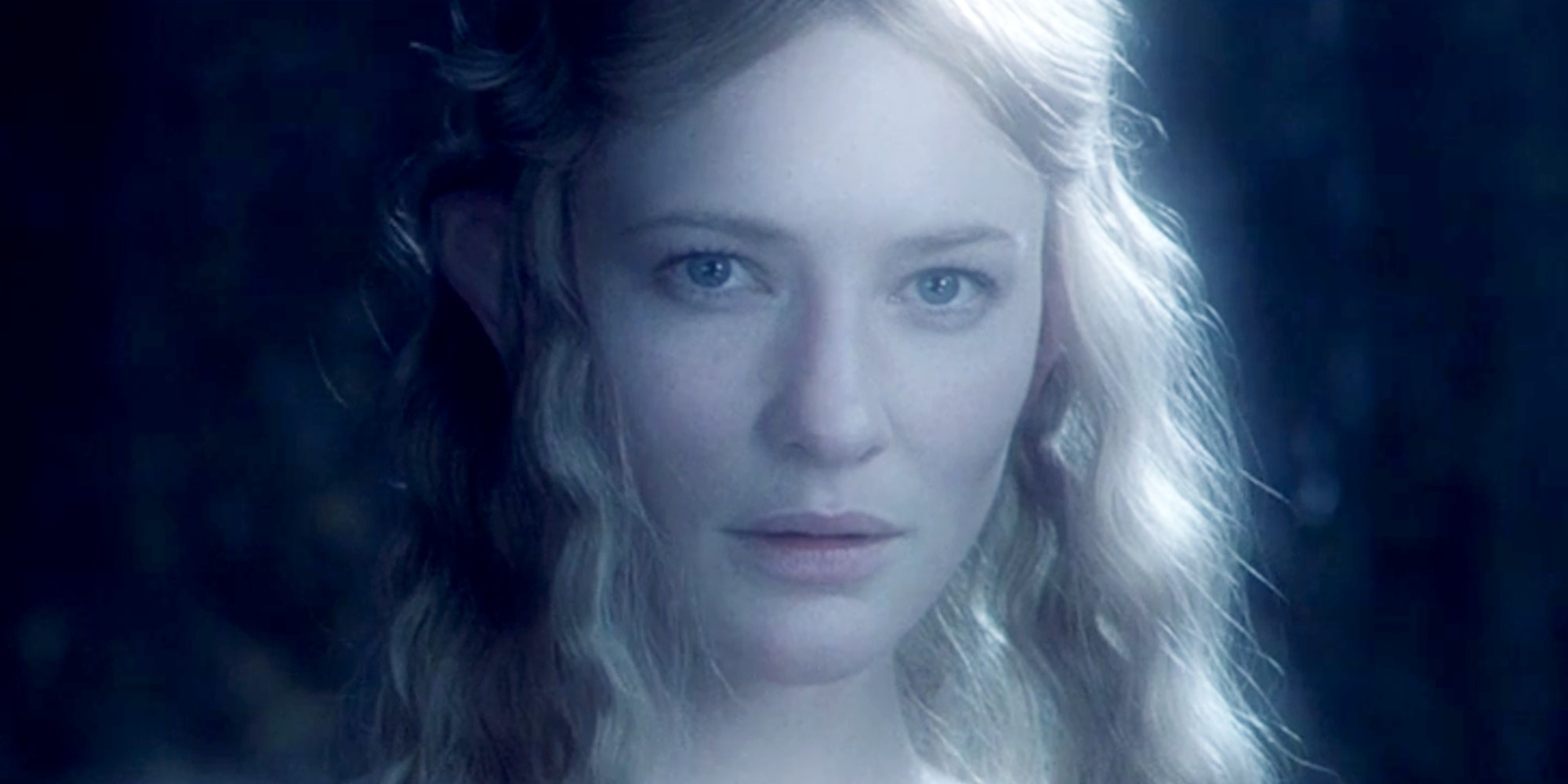 the elf galadriel in lord of the rings fellowship of the rings