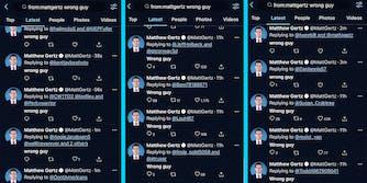 A list of tweets from Matthew Gertz.