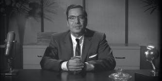 jimmy fallon dressed as a 50s-era late-night host