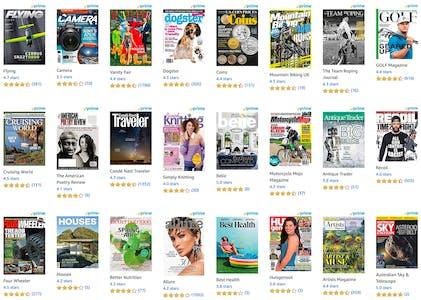 magazines on amazon
