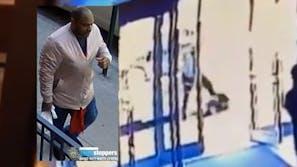 Black man attacks Asian woman on sidewalk