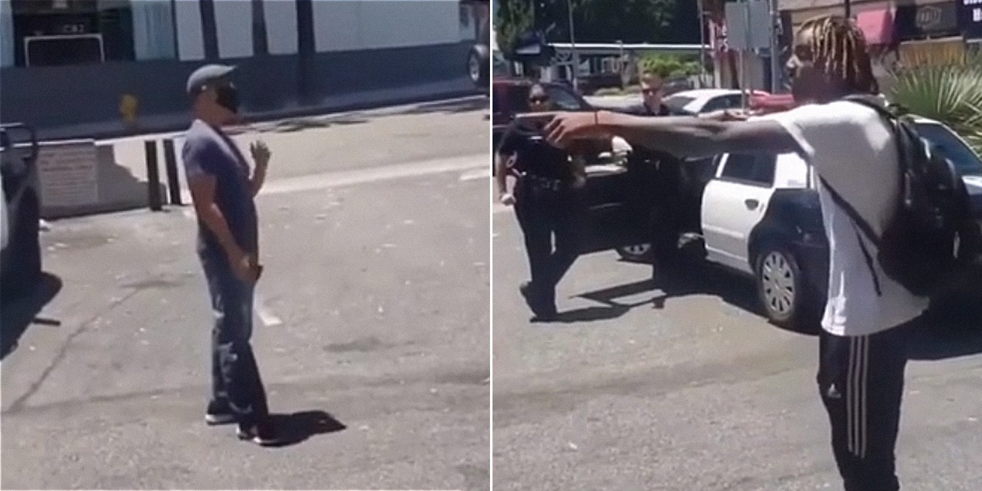 'Yeah, I Am Racist': A Black Man Goes Off On A Asian Man And White Cops