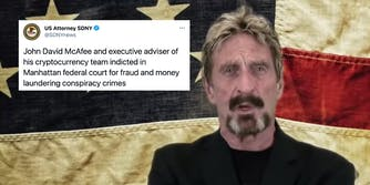 John McAfee and a tweet about criminal charges