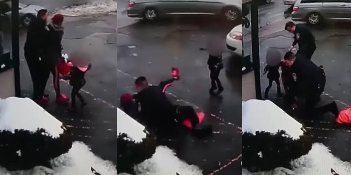 Rochester police pepper spray mom accompanied by 3-year-old.