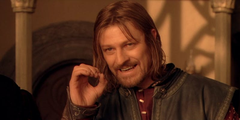 one does not simply walk into mordor meme