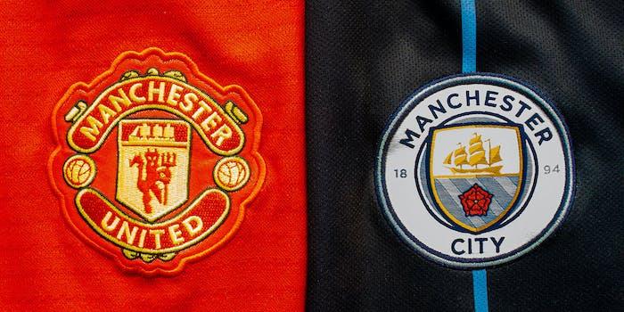 manchester city vs manchester united premier league manchester derby