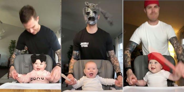 tiktok heavy metal baby
