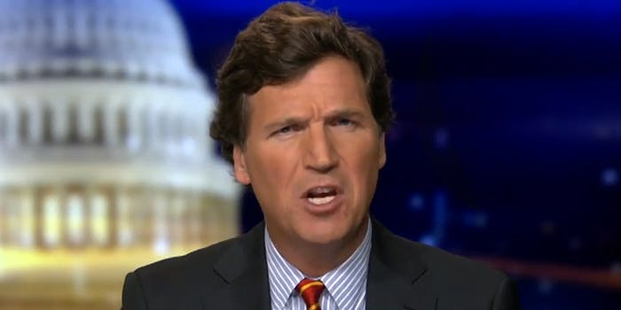 Tucker Carlson very confused by something