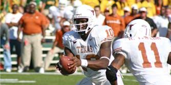 Former Texas quarterback Vince Young