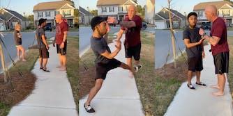 Army Sergeant harasses Black man for walking in neighborhood