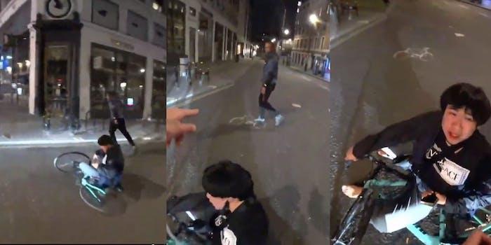 Live Streamer Sherwin saves Asian man from mugging