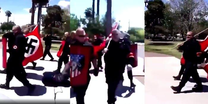 Group of neo-Nazis march through Arizona suburb