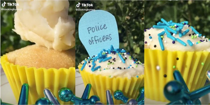 TikToker tries to end police brutality with a cupcake video