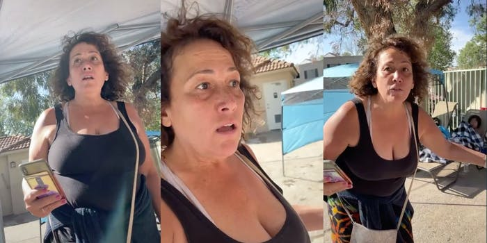 Pool Party Karen yells at family over get together
