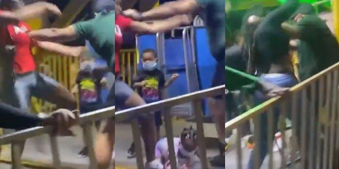 Florida Ferris Wheel operator attacks woman - gets beat by crowd