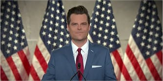 An announcement from Rep. Matt Gaetz was signed anonymously by the women who work for him