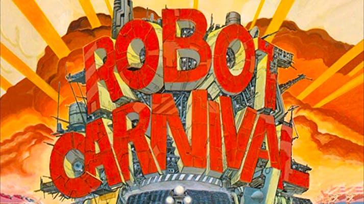 best anime on amazon prime - robot carnival