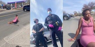 black-woman-standoff-police