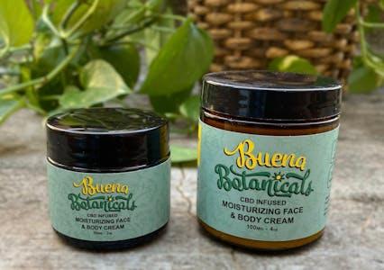 buena botanicals cbd cream for body and face