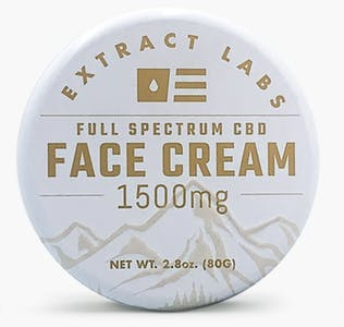 Extract Labs' CBD salve for the face.